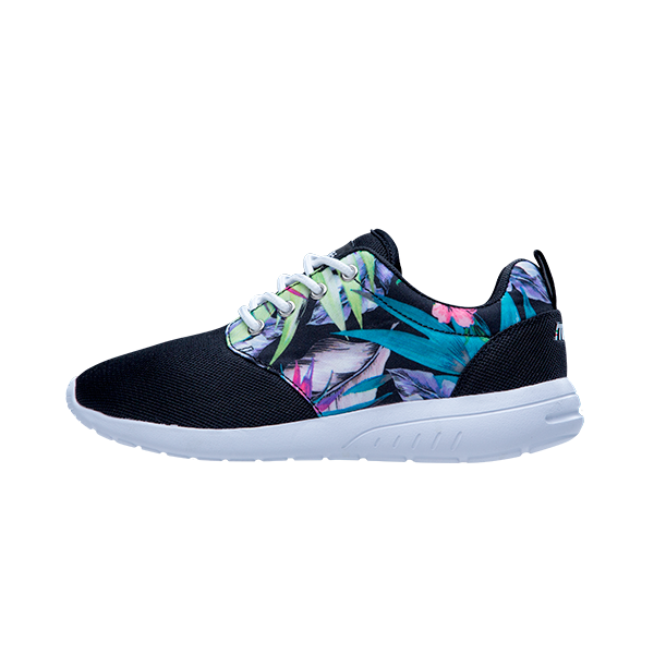 HAILEY FLOWER PRINT LACE UP