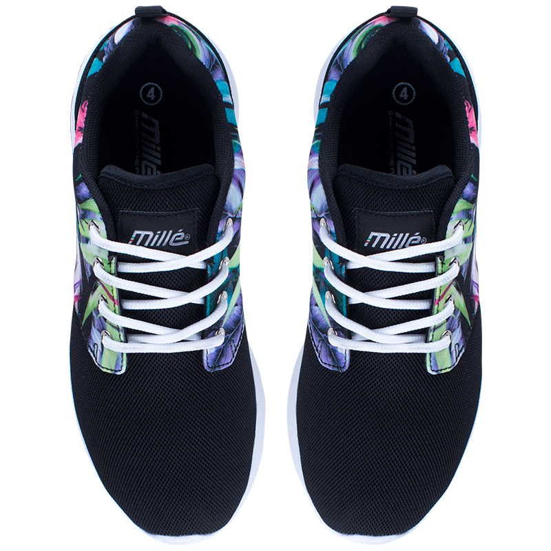 Millé - Ladies - HAILEY FLOWER PRINT LACE UP